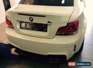 BMW 1M Coupe 2012 E82 2D Manual 6 Speed for Sale