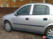 2002 VAUXHALL ASTRA LS 8V AUTO SILVER for Sale