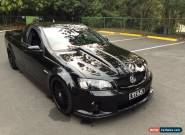 2008 Holden Commodore VE MY09.5 SS-V Phantom Black Manual 6sp M Utility for Sale