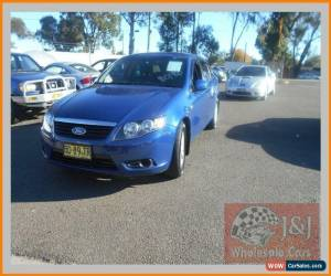 Classic 2009 Ford Falcon FG XT (LPG) Blue Automatic 4sp A Sedan for Sale