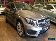 2015 Mercedes-Benz GLA X156 MY15 45 AMG 4Matic Mountain Grey Automatic 7sp A for Sale