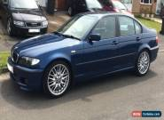 BMW 320d Sport, E46, 2003, Blue, 103500miles, Grey Leather for Sale