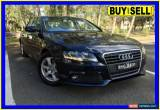 Classic 2011 Audi A4 B8 (8K) MY11 1.8 TFSI Blue Automatic A Sedan for Sale