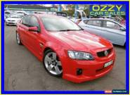 2010 Holden Commodore VE II SS-V Red Manual 6sp M Sedan for Sale