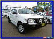 2012 Toyota Hilux KUN26R MY12 SR (4x4) Glacier White Automatic 4sp A for Sale
