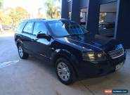 2005 FORD TERRITORY TX AUTO AWD WAGON BLACK for Sale