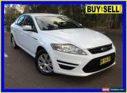 2011 Ford Mondeo MC LX Tdci White Automatic 6sp A Hatchback for Sale