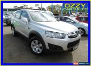 2011 Holden Captiva CG MY10 SX (4x4) Silver Automatic 5sp A Wagon for Sale