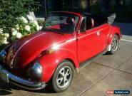 Volkswagen: Beetle - Classic Karmon Super Bettle for Sale