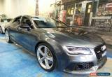 Classic 2014 Audi RS7 4G MY15 Sportback Tiptronic quattro Daytona Grey Automatic 8sp A for Sale