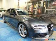 2014 Audi RS7 4G MY15 Sportback Tiptronic quattro Daytona Grey Automatic 8sp A for Sale