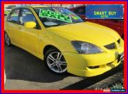 2004 Mitsubishi Lancer CH VR-X Yellow Automatic 4sp A Sedan for Sale