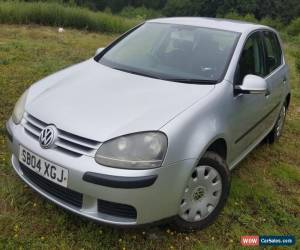 Classic 2004 VOLKSWAGEN GOLF 1.4 FSI S SILVER 57624 miles onlly for Sale