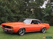 1969 Chevrolet Camaro Rally Sport 350 4 speed manual for Sale