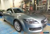 Classic 2007 Audi TT 8J Light Grey Manual 6sp M Coupe for Sale