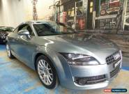 2007 Audi TT 8J Light Grey Manual 6sp M Coupe for Sale