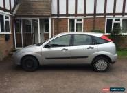 2001 FORD FOCUS GHIA GREY, 20,000 miles, 1.6l PETROL for Sale