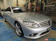 2007 Mercedes-Benz CL500 C216 MY08 Zircon Silver Automatic 7sp A Coupe for Sale
