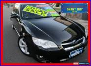 2006 Subaru Liberty MY06 2.5I Premium Black Automatic 4sp A Wagon for Sale