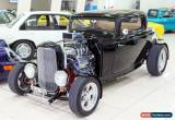 Classic 1932 Ford Hot Rod ROADSTER  HIGHBOY Black Automatic A Coupe for Sale