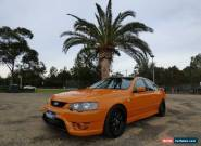2006 Ford Falcon BF Mk II XR6 Turbo Orange Automatic A Sedan for Sale