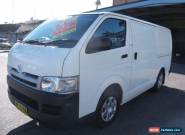 2005 Toyota Hiace KDH220R LWB White Automatic 4sp A Van for Sale