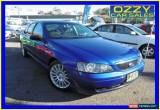 Classic 2003 Ford Falcon BA XT Blue Automatic 4sp A Sedan for Sale