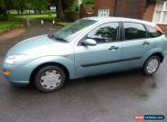 2001 FORD FOCUS LX ZETEC 1.6 PETROL for Sale