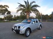 2007 Nissan Navara D40 ST-X Silver Manual 6sp M 4D UTILITY for Sale