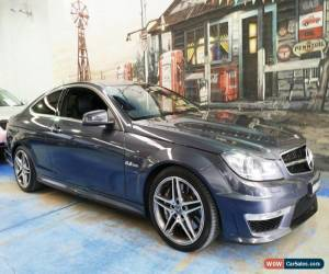 Classic 2012 Mercedes-Benz C63 C204 MY12 AMG SPEEDSHIFT MCT Charcoal Grey Automatic 7sp for Sale