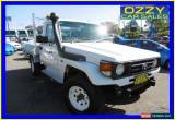 Classic 2006 Toyota Landcruiser HZJ79R (4x4) White Manual 5sp M Cab Chassis for Sale