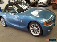 2005 BMW Z4 2.2I SE AUTO BLUE for Sale