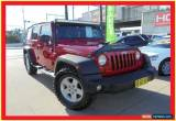 Classic 2007 Jeep Wrangler JK Unlimited Sport Red Automatic 4sp A Softtop for Sale