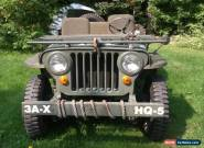Willys: mb for Sale