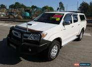 2007 Toyota Hilux KUN26R MY08 SR White Manual 5sp M 4D UTILITY for Sale