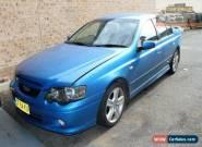 2002 Ford Falcon BA XR6 Blue Automatic 4sp A Sedan for Sale