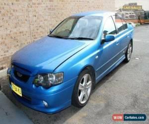Classic 2002 Ford Falcon BA XR6 Blue Automatic 4sp A Sedan for Sale