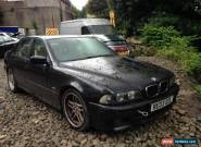 2003 BMW 530I SPORT CHAMPAGNE EDITION II A BLACK NON RUNNER SPARES OR REPAIR for Sale