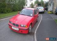 BMW 3 SERIES 1.6 316i 4dr for Sale