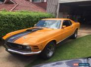 FORD MUSTANG  MACH 1 351C ORIGINAL FAST BACK for Sale