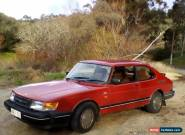 Saab 1989 900i 16v Coupe- FULL SERVICE HISOTRY and LOW KM for Sale