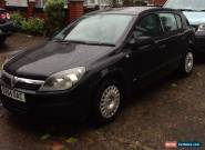 2004 VAUXHALL ASTRA LIFE AUTO BLACK - spares repairs - still drives for Sale