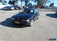 1998 BMW 523I E39 23I Black Automatic 5sp A Sedan for Sale