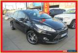 Classic 2009 Ford Fiesta WS Zetec Black Automatic 4sp A Hatchback for Sale