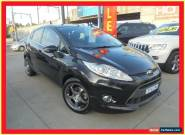 2009 Ford Fiesta WS Zetec Black Automatic 4sp A Hatchback for Sale