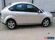 2007 FORD FOCUS LX 1.8 TDCI SILVER  for Sale