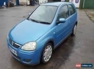 2003 VAUXHALL CORSA DESIGN 16V BLUE 5 MONTHS MOT SPARES OR REPAIR for Sale