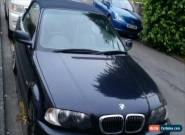 2000 BMW 323 CI AUTO BLUE for Sale