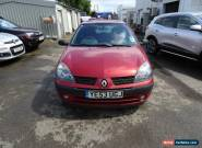2003 RENAULT CLIO EXTREME 2 16V RED 1.2 5 DOOR for Sale