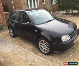 Classic 2002 VOLKSWAGEN GOLF V5 AUTO BLACK for Sale